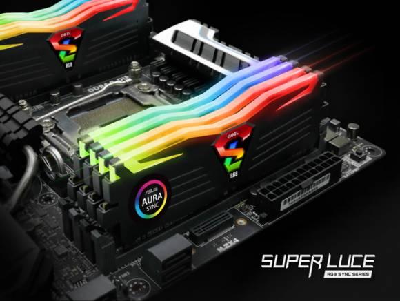 Модули памяти GeIL Super Luce RGB Sync
