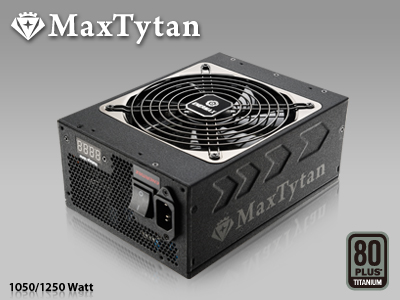 Блоки питания Enermax MaxTytan 1050 и 1250 Вт